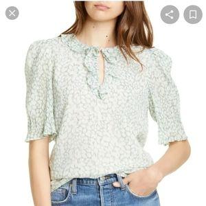 Rebecca Taylor pleat collar shirt